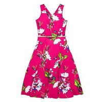 Baker by Ted Baker Girls Printed Jersey Maxi Dress, Pink, Size 9-10 Years, Women
