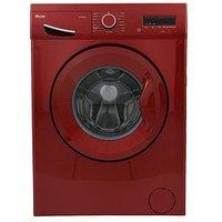 Swan Sw15830R 8Kg Load, 1200 Spin Washing Machine - Red