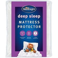 Product photograph showing Silentnight Deep Sleep Mattress Protector