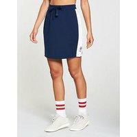 Reebok Classics Jersey Skirt - Navy/White , Navy, Size S, Women