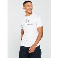 Armani Exchange Long Sleeve T-shirt, White, Size Xl, Men