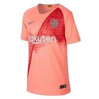 Nike FC Barcelona 18/19 Mens 3rd Shirt, Pink, Size L, Men