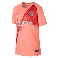 Boys, Nike Youth Barcelona 18/19 3rd Short Sleeved Stadium Jersey - Pink, Pink, Size Xs (6-7 Years)