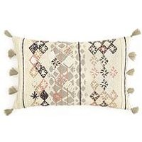 Product photograph showing Gallery Nila Embroidered Cushion