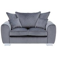 Product photograph showing Vibe Fabric 2 Seater Scatter Back Sofa