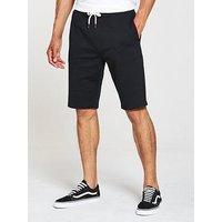 V by Very Jog Shorts, Black, Size Xl, Men