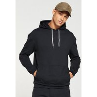 V by Very Overhead Hoody, Black, Size 2Xl, Men