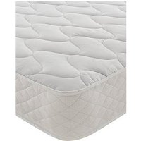 Product photograph showing Silentnight Essentials Open Coil Quilted Mattress - Firm