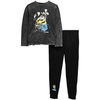 Minions Minion Boys Pyjamas Set, Multi, Size Age: 9-10 Years