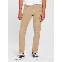 Levi's Levis 511¿ Slim Fit Cord Trouser, Lead Gray, Size 30, Length Regular, Men