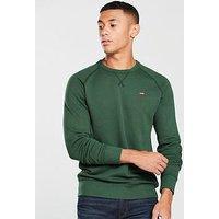 Levi's Levis Original Housemark Icon Sweatshirt, Green, Size L, Men