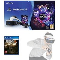 Playstation Vr Starter Pack With Resident Evil 7 Biohazard And Optional Move Controller - Playstation Vr Starter Pack With Resid