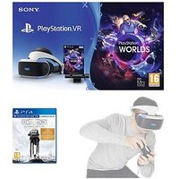 Playstation Vr Starter Pack With Star Wars Battlefront Ultimate Edition And Move Motion Controller - Playstation Vr Starter Pack