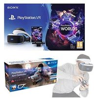Playstation Vr Playstation Vr Starter Pack With Farpoint And Playstation Aim Controller And Move Motion Controller