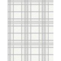 Superfresco Easy Tartan Silver Wallpaper