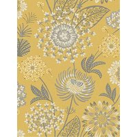 Arthouse Vintage Bloom Wallpaper Mustard Yellow