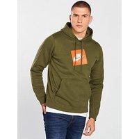 Nike Sportswear Hybrid Hoodie, Olive, Size S, Men
