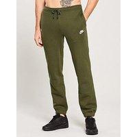 Nike Sportswear Club Fleece Pants, Olive /White, Size 2Xl, Men