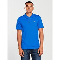 Lacoste Sport Basic Logo SS Polo Shirt, Royal, Size 3, Men