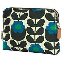 Orla Kiely Primrose Jade Cosmetic Bag, One Colour, Women