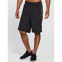 Puma Energy Knit Mesh Shorts, Black/Forest Night, Size S, Men