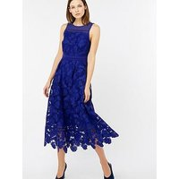 Monsoon Becky Lace Midi Dress