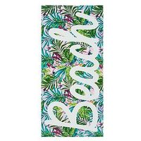Product photograph showing Catherine Lansfield Tropical Beach Towel