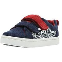 Clarks Marvel X Clarks Captain America City Hero First Lo Trainer, Blue, Size 6 Younger
