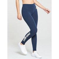 Ellesse Solos Legging - Navy , Navy, Size 10, Women