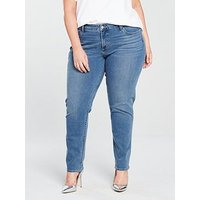 Levi's Plus Levi's Plus 311 Shaping Skinny Jean, Denim, Size 22, Inside Leg Short, Women