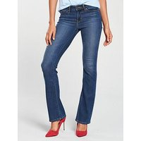Levi's 715 Bootcut Jean, Have No Fear, Size 27, Inside Leg Short, Women