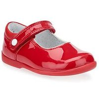 Start-rite Nancy Girls Mary Jane Shoe, Red, Size 4.5 Younger