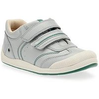 Start-rite Tough Bug First Shoe, Grey, Size 5.5 Younger