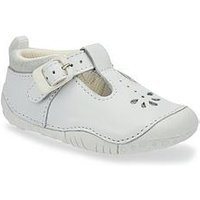 Start-rite Baby Bubble Baby Girls Shoe, White, Size 3.5 Younger