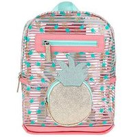 Accessorize Girls Pineapple Jelly Backpack, Multi