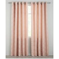 Delta Jacquard Eyelet Curtains