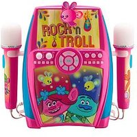 Dreamworks Trolls Trolls - Deluxe Sing-Along Boombox With Dual Microphones