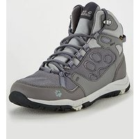 Jack Wolfskin Activate Texapore Mid W, Grey, Size 7, Women