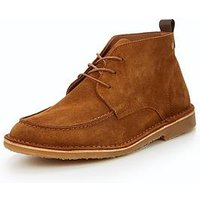 Jack & Jones Manc Suede Chukka Boots, Brown, Size 8, Men