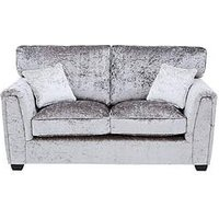 Product photograph showing Glitz Fabric Standard Back 2 Seater Sofa