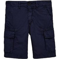 North Sails Boys Classic Cargo Short, Navy, Size 10 Years