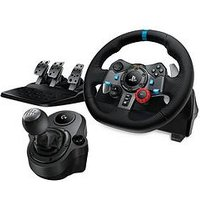 Logitech G29 Driving Force Racing Wheel With Pedals And Force Shifter