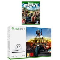Xbox One S 1Tb Console Plus Playerunknown'S Battlegrounds And Far Cry