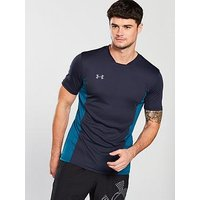 UNDER ARMOUR Challenger ll Training Top, Navy, Size S, Men