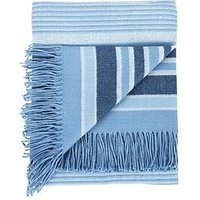 Catherine Lansfield Woven Striped Blanket