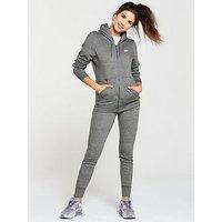 Nike Sportswear Fleece Tracksuit - Grey , Grey, Size S, Women
