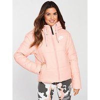 Nike Sportswear Padded Jacket - Pink, Pink, Size M, Women
