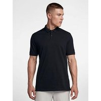 Nike Dry Classic Pique Golf Polo, Black, Size M, Men