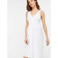Monsoon Monsoon Shelly Shiffly Sundress - White