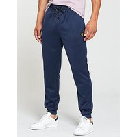 Lyle & Scott Fitness Lyle & Scott Fitness Hislop Track Pants, Navy Marl, Size M, Men